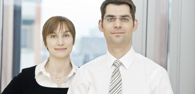 The management team at GILYOS: Dr. Margit Gieseler and PD Dr. Henning Gieseler